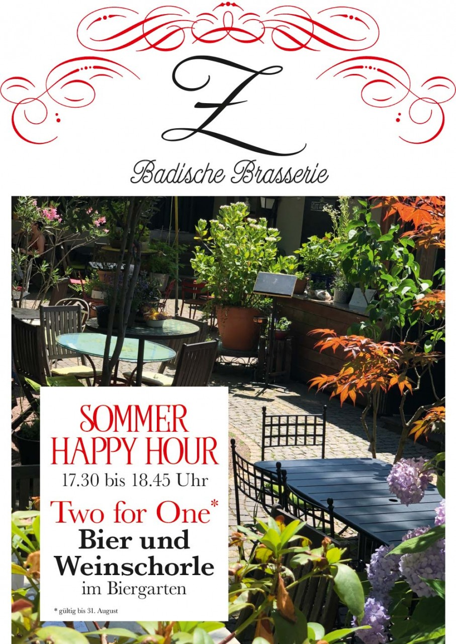 Sommer Happy Hour